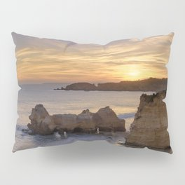 Praia da Rocha dusk, Portugal Pillow Sham