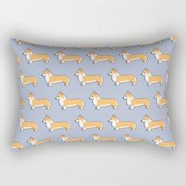 Corgi's rule Rectangular Pillow