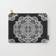Mandala Lace (Tile) Carry-All Pouch