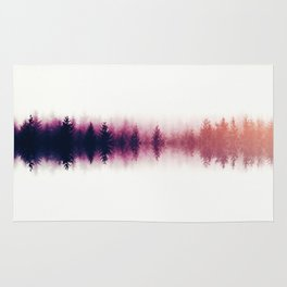 Sound waves -fall Rug