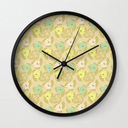 Juliette, pale Wall Clock