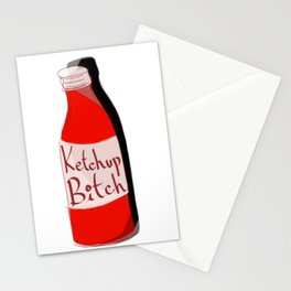 Ketchup Bitch Stationery Cards