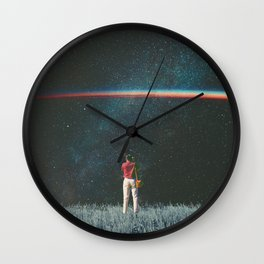 Saw The Light Wall Clock