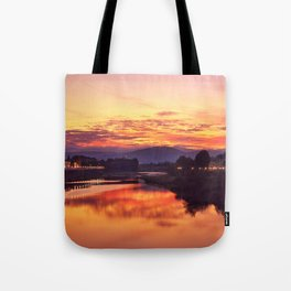 October Sunrise Tote Bag