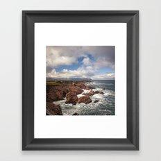 White Point Framed Art Print