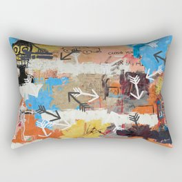 Arrows Pointed At You Rectangular Pillow
