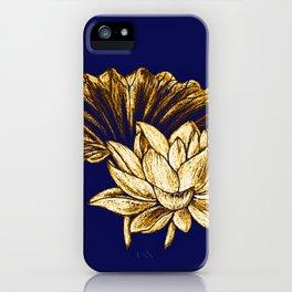 GOLDEN LOTUS iPhone Case