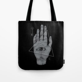 Witch Hand Tote Bag
