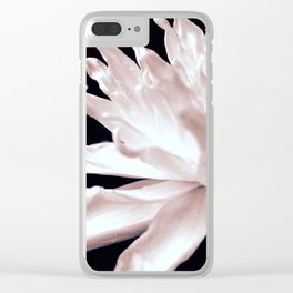 Hopeful Water Lilly Clear iPhone Case