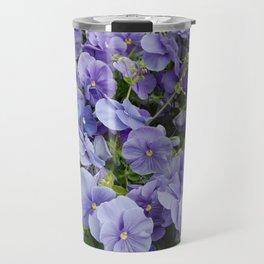 Pansy flower Travel Mug