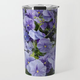 Pansy flower Travel Mug