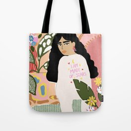 I am Made of Stars Tote Bag