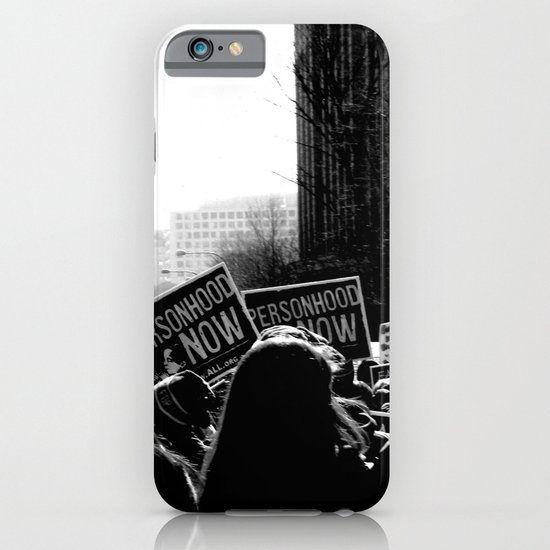 March for Life iPhone & iPod Case
