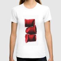 lipstick T-shirts featuring Lipstick by I Love Decor