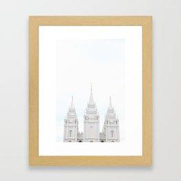 SLC LDS Temple Gerahmter Kunstdruck