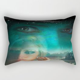 Romantic Nature. Rectangular Pillow