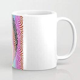 Psychedelic Zebra Mash-up Coffee Mug