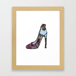 The Shoe That Makes The Outfit Framed Art Print