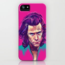 harry in colors iPhone Case
