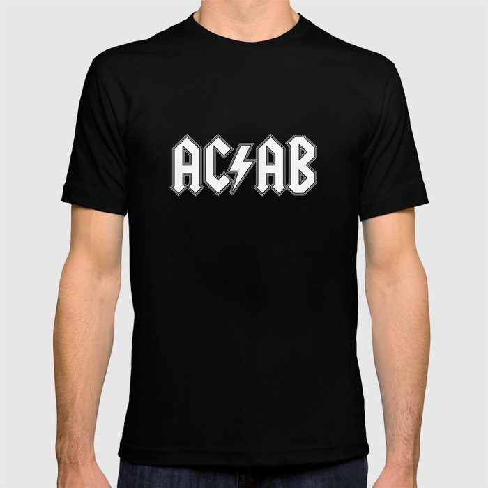 ACAB # BLACK & WHITE T-shirt