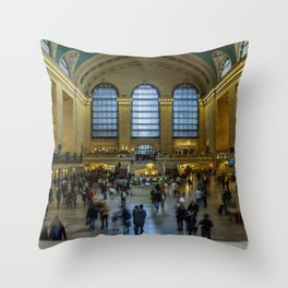 The Grand Central Terminal in NYC Throw Pillow