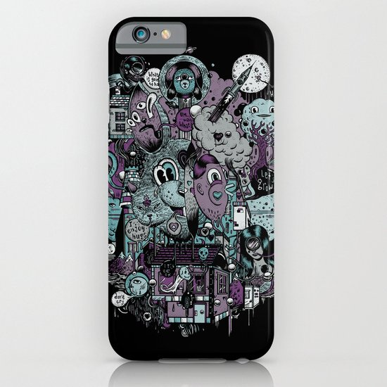 Supernature In The City Of Poison Syrup And Hope Candy iPhone & iPod Case