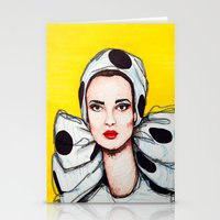 vogue Stationery Cards featuring vogue by Emily Tumen