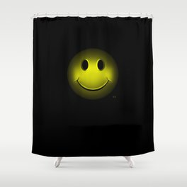 smiley 16 Shower Curtain