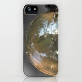 Light up the world iPhone Case