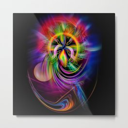 Abstract Perfection 60 Metal Print