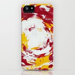 Enso Of Poppy iPhone Case