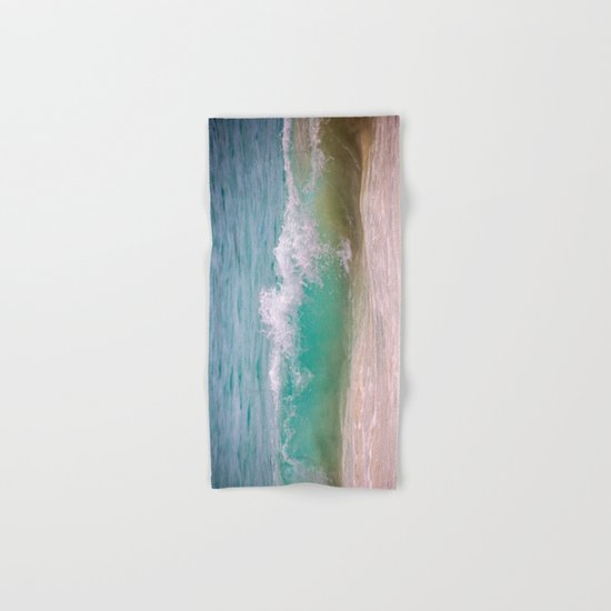 Caribbean Wave Hand & Bath Towel