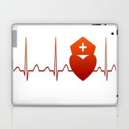 NURSE HEARTBEAT Laptop & iPad Skin