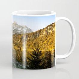 Lake Eibsee 4k spring mountains sunset beautiful nature Eibsee Bavaria Germany Europe Coffee Mug