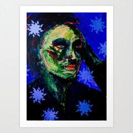 Cu Indigo Art Print