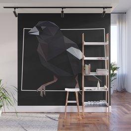 Colorado – Lark Bunting (Black) Wall Mural