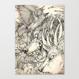 Chaos Divine  Canvas Print