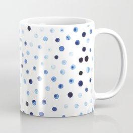 Blue drops Coffee Mug