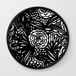Perennials Wall Clock