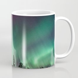 Beautiful northern lights Coffee Mug