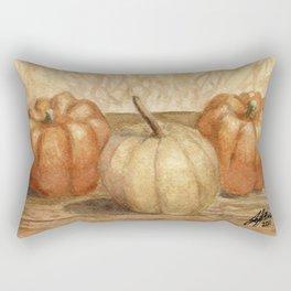 Mini Pumpkins I Rectangular Pillow