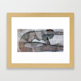 Yoga Series: Determined Framed Art Print