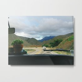 ROAD TRIP / California Metal Print