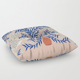 Leopard Vase Floor Pillow
