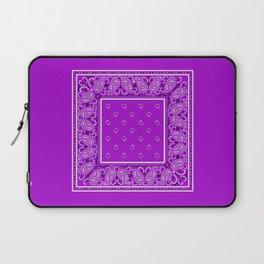 Preciously Purple Bandana Laptop Sleeve