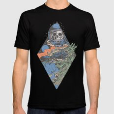 The trip LARGE Mens Fitted Tee Black