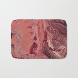 Pink Swirl Bath Mat