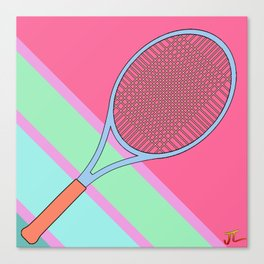 Tenis Racket Canvas Print