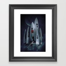 House of Knives 1 Framed Art Print
