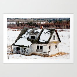 Usona Farm House 4 Art Print